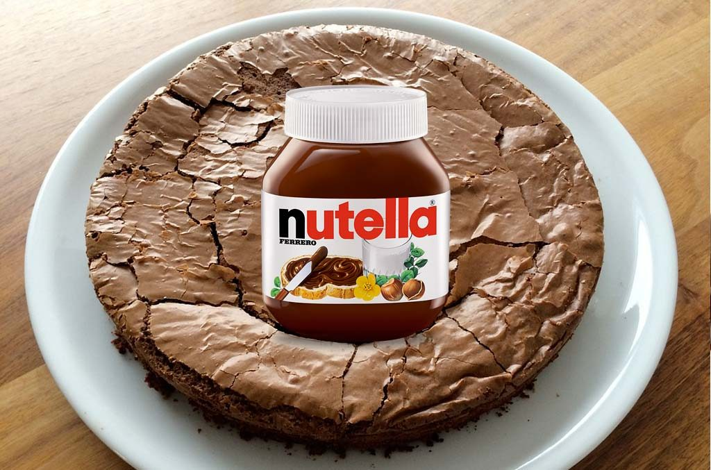 fondant au nutella